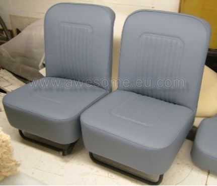 Morris Minor seating