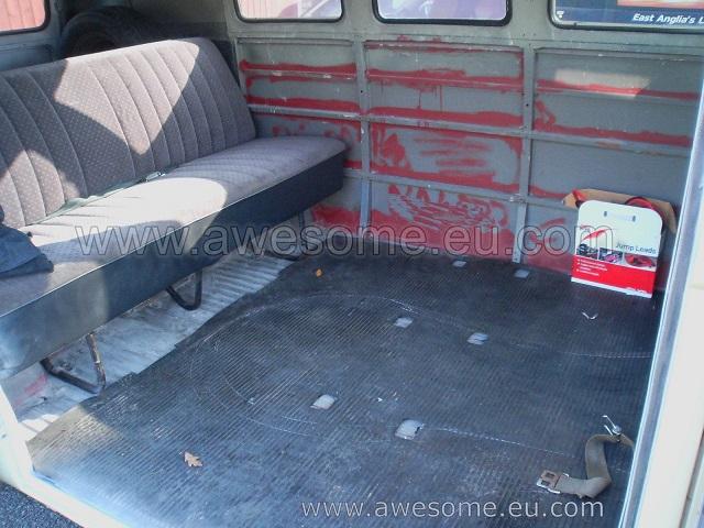 Splitscreen Volkswagen Campervan SG2
