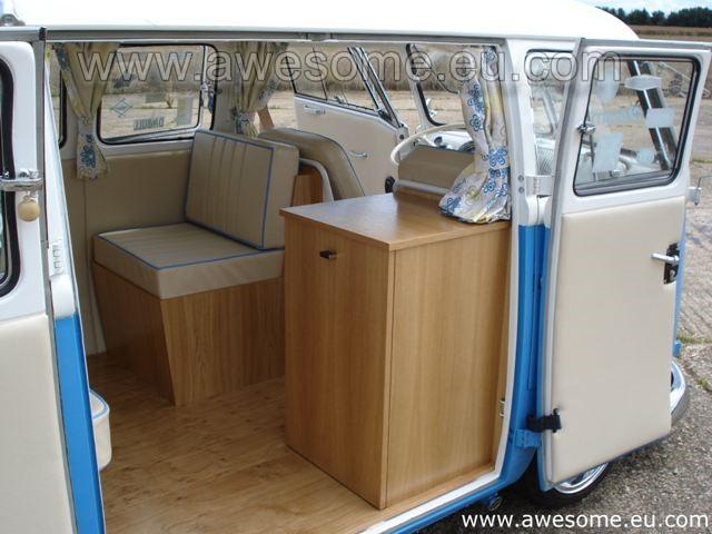 Volkswagen split screen interior