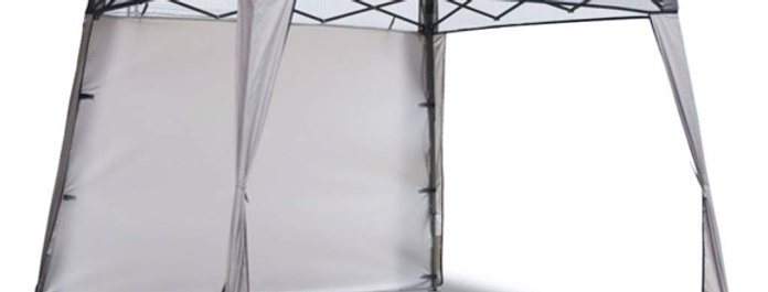 Part G - Fabric Canopy Top With Wall and Gravity Corner Curtains