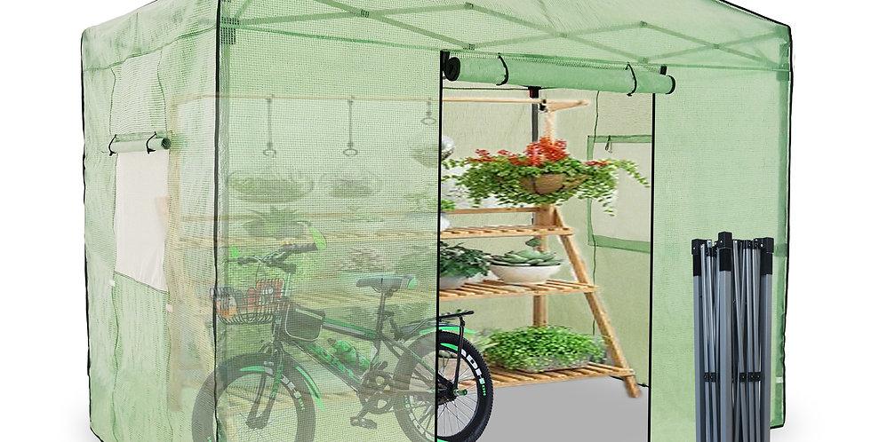 EzyFast 6.5'x 10' Portable Walk-in Plant Gardening Greenhouse