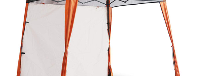 EzyFast Orange Elegant Ultra Compact Canopy (Sun Shade)