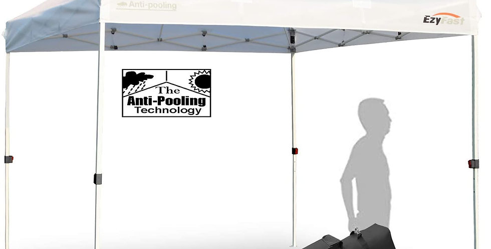 EzyFast 10'x10' Antipool Pro Commercial Canopy with Vent for Rain or Sun