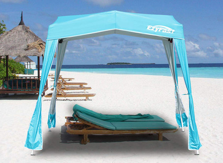 How to design a beach-themed backyard with gazebo