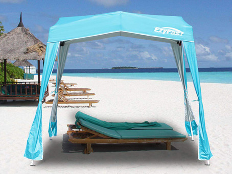 How to design a beach-themed backyard with gazebo