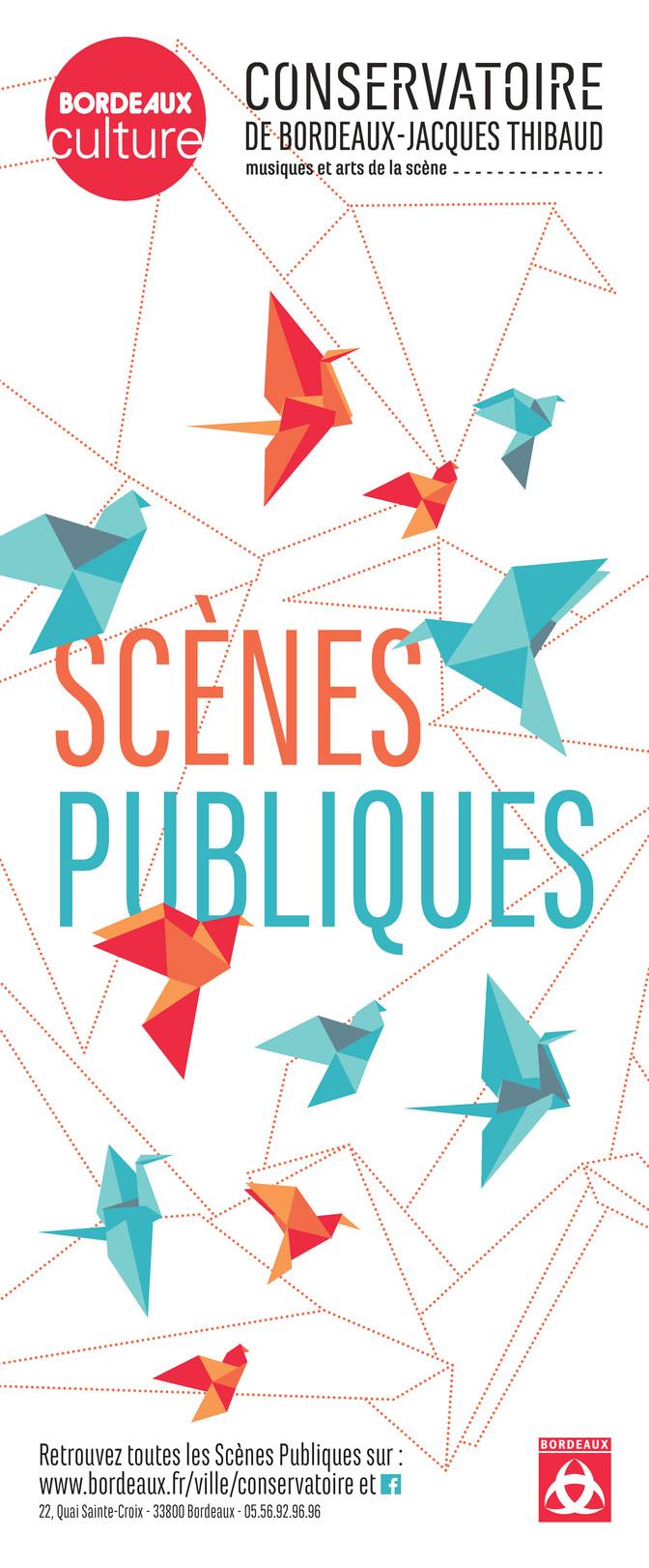 Réalisation Identité visuelle - Conservatoire de Bordeaux