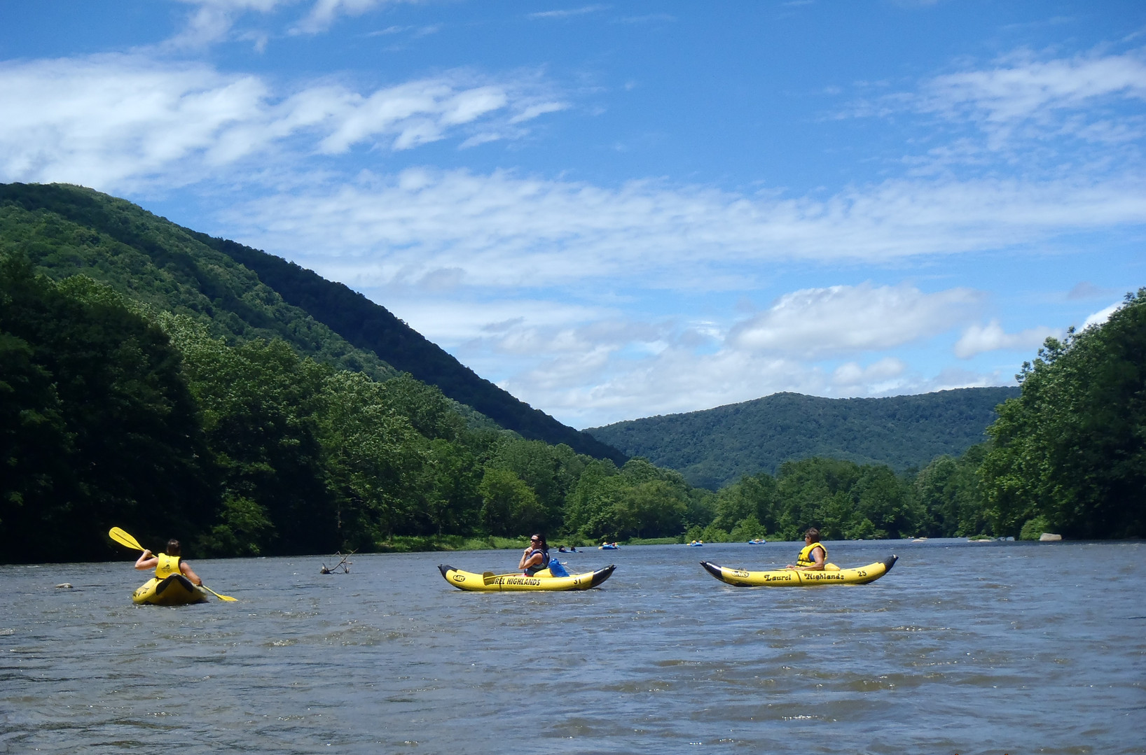 Rafting the Middle Yough