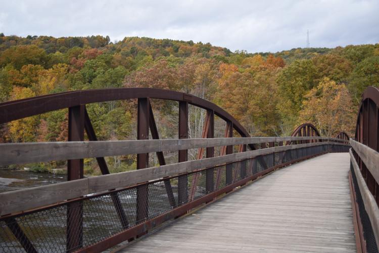 Ohiopyle Bicycle Bridge