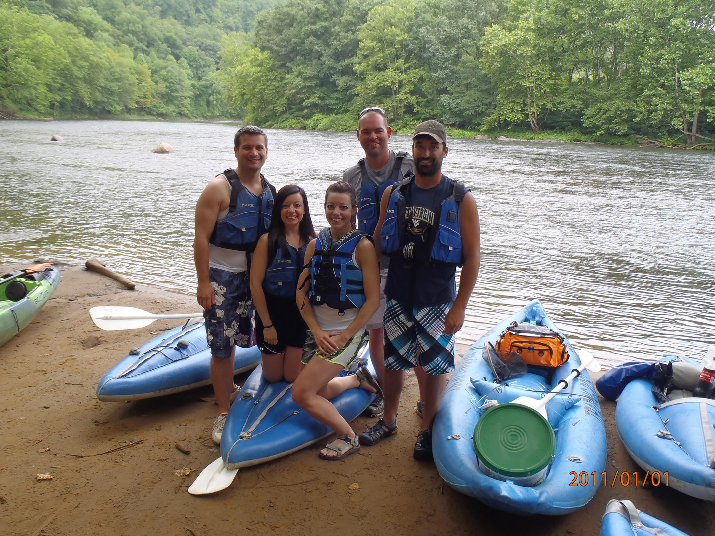 Rafting the Yough