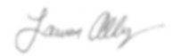 Lauren Allegrezza signature