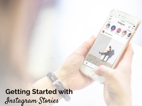 Getting Started with Instagram Stories