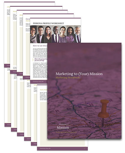 Marketing to Mission MtYM Workbook previ