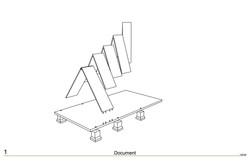 Unfold roof panels