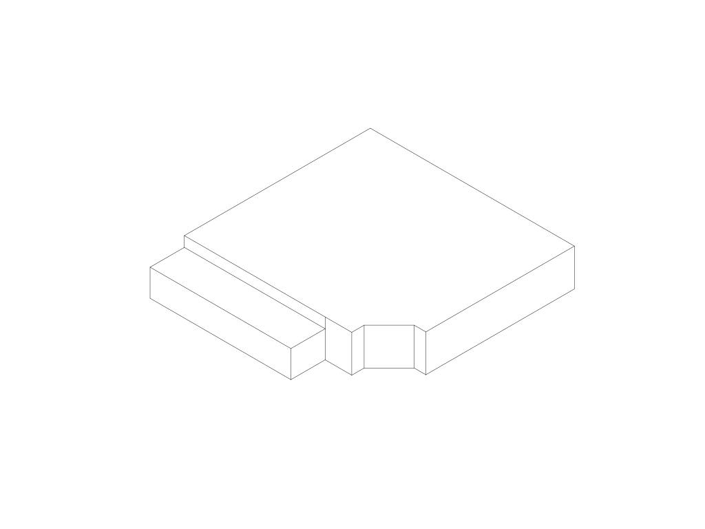 Irregular box.