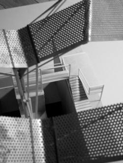 Roof prosthesis model detail