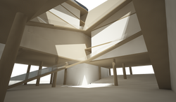 Atrium light study