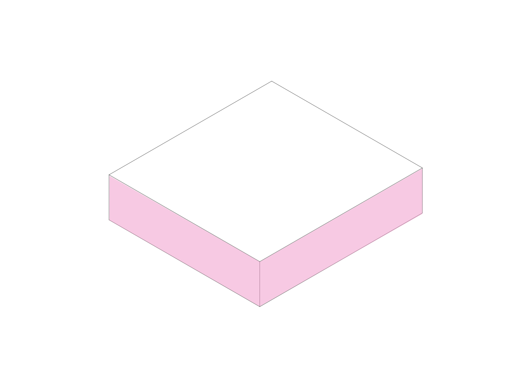 Make a regular pink box.