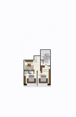 Casa O bedrooms