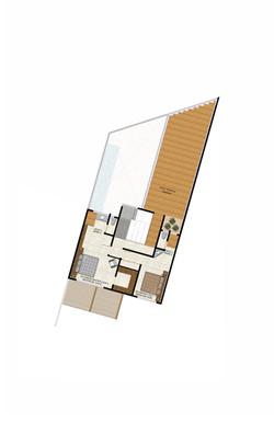 Casa M upper floor