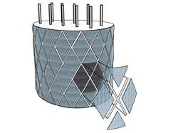 Facade assembly diagram