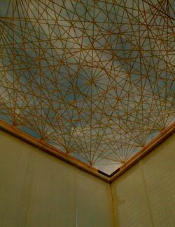 textile ceiling