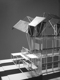 Roof prosthesis model