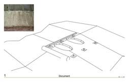 Textile form for slab