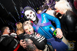 Day of the dead and underworld party