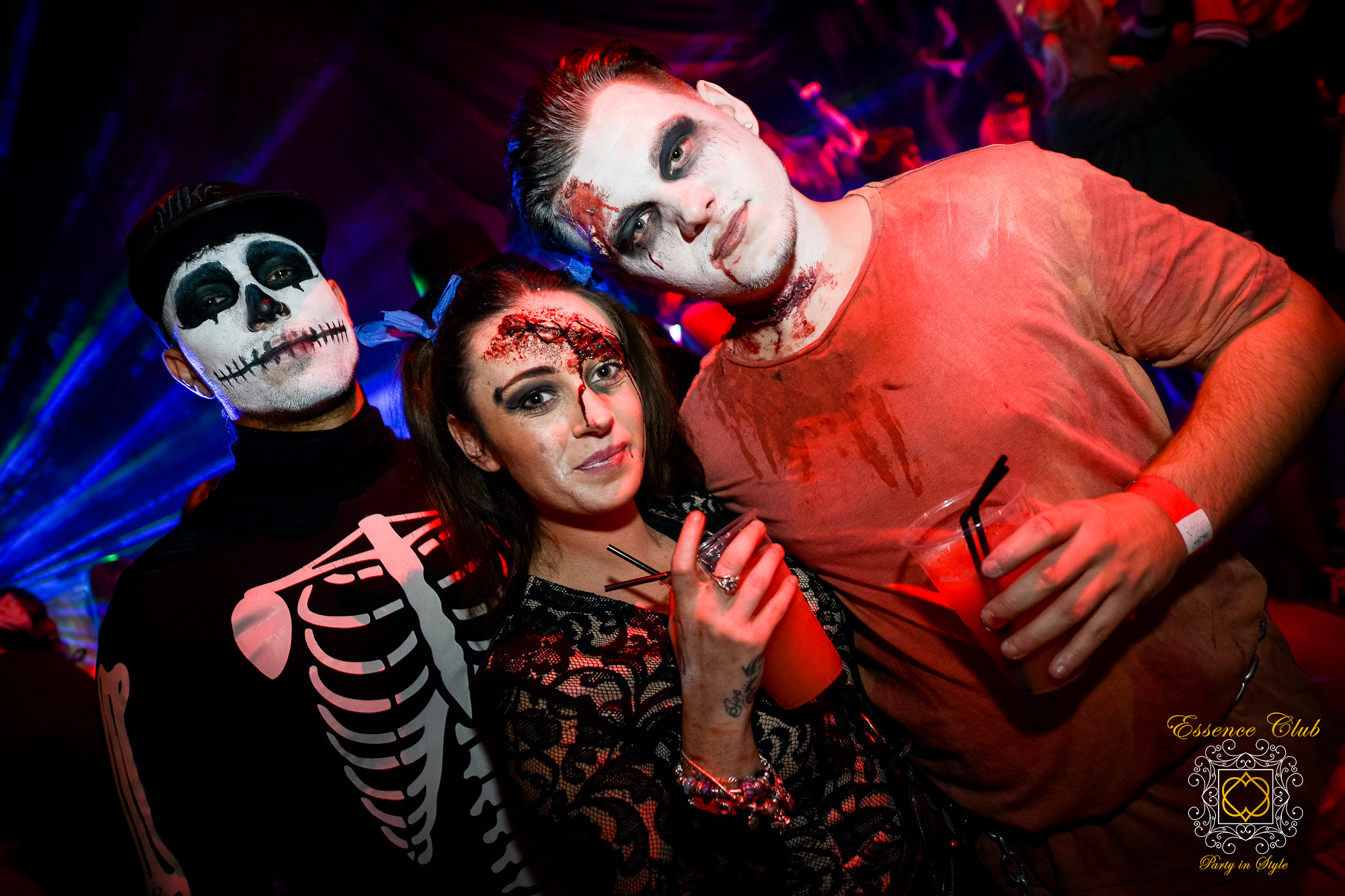 Halloween heaven hell at essence club