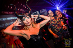 Heaven hell theme night at essence parties