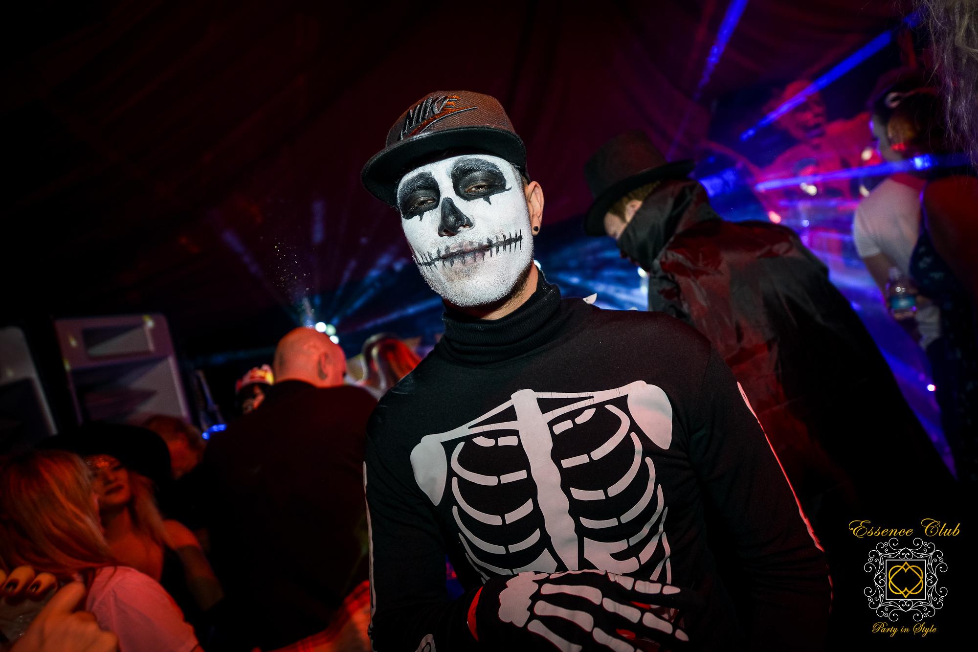 Halloween essence club event