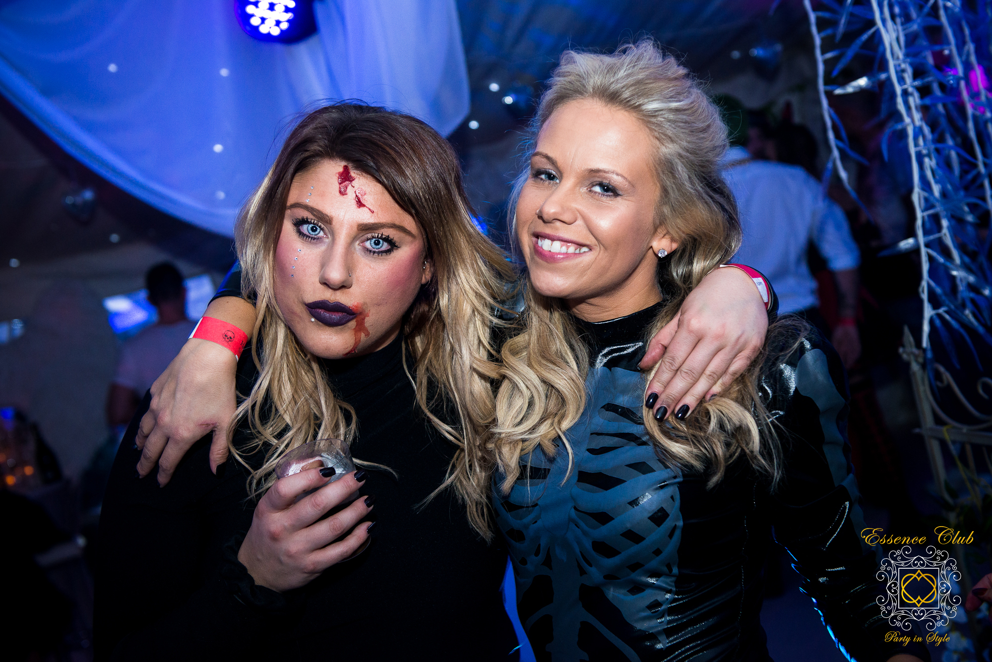 Essence club halloween heaven hell party