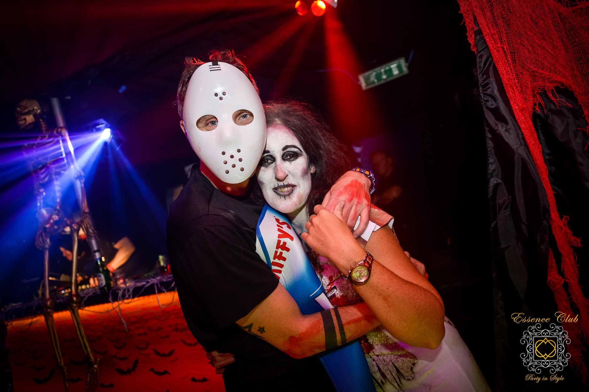 Halloween at essence club heaven hell