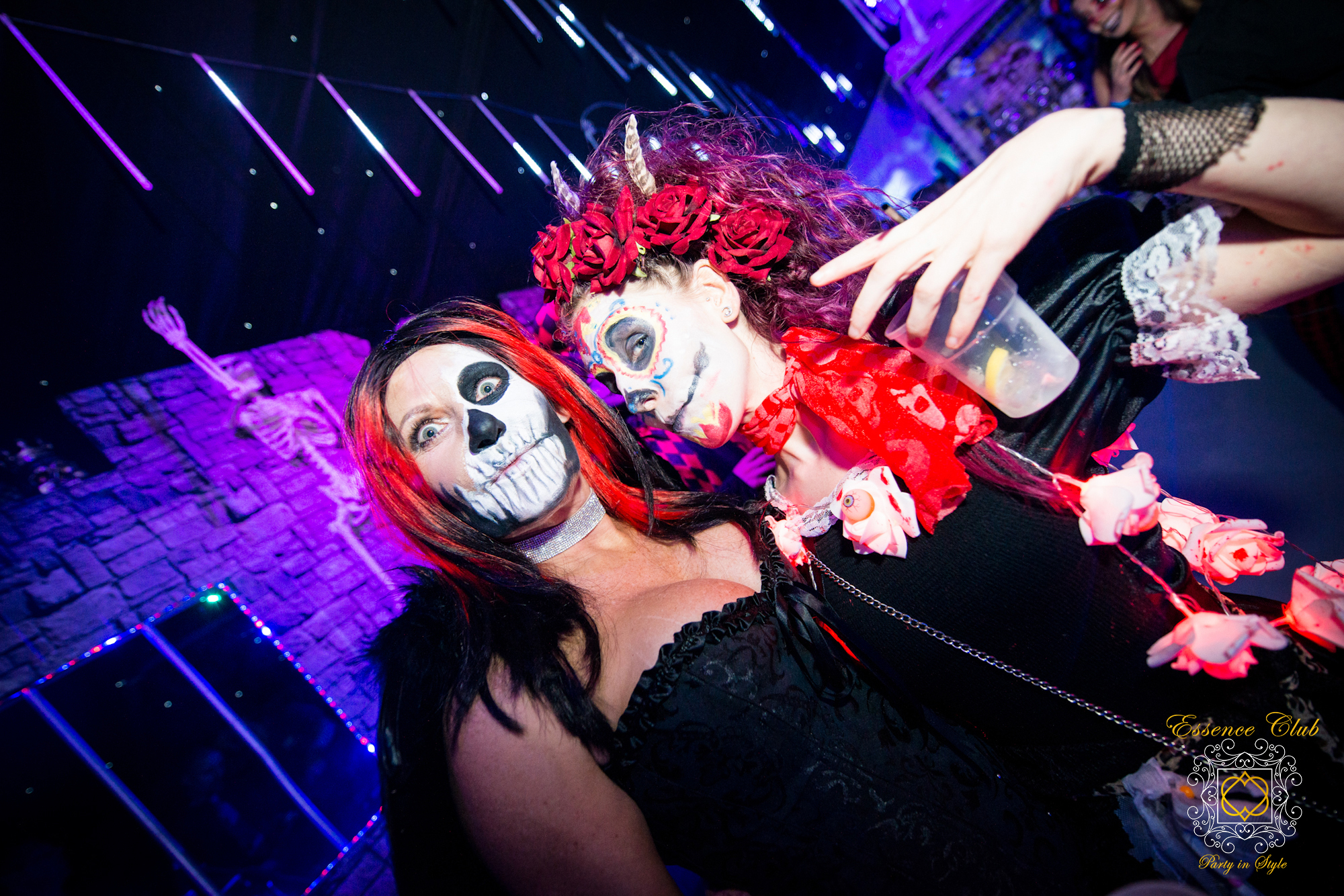Essence Club Halloween party