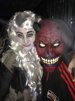 Bewitching halloween club night