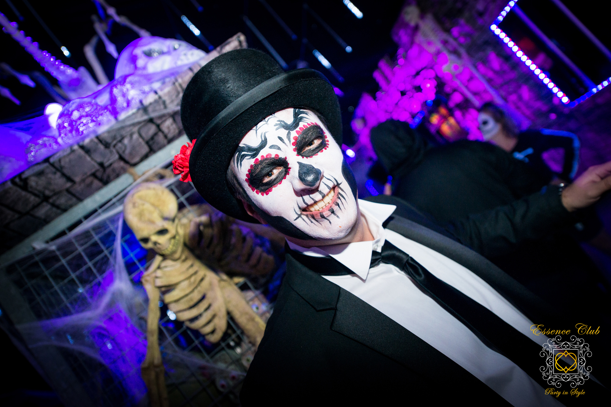 Halloween day of the dead night