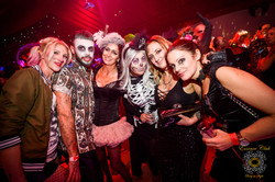 Halloween party night at essence club
