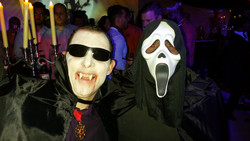 Bewitching halloween night out