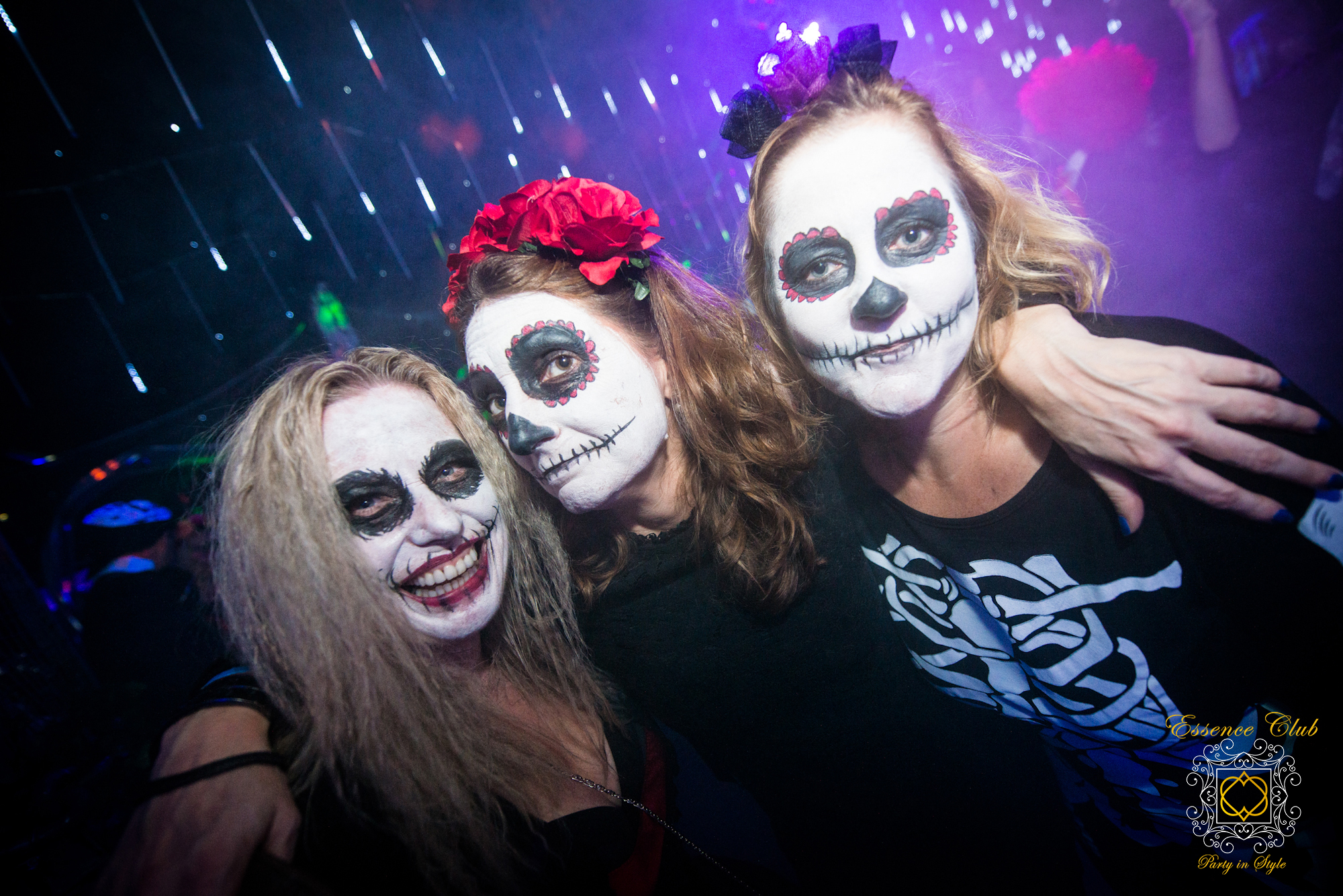 Halloween day of the dead night out