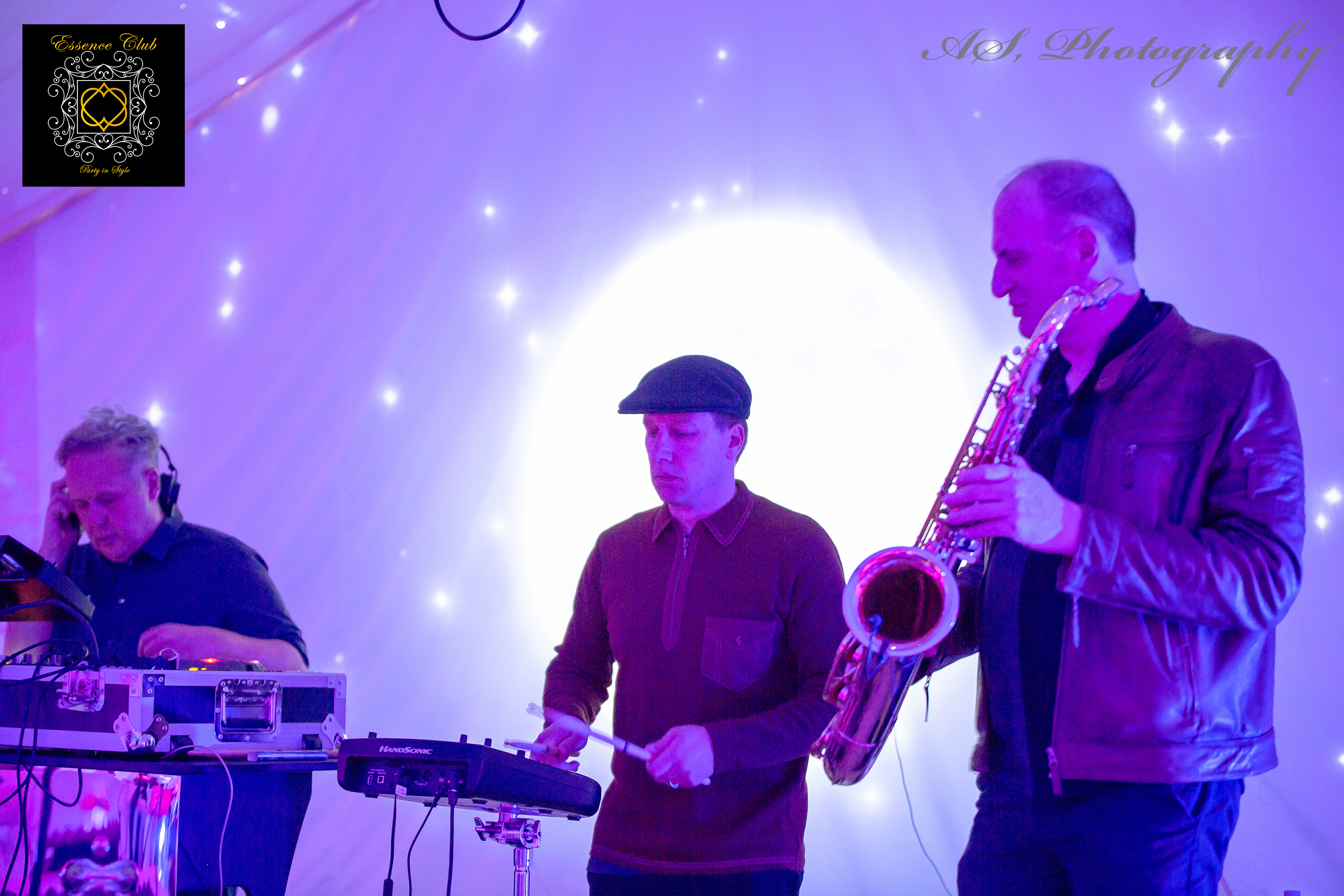 DJ Terry Farley, Mike Bandoni and Sax