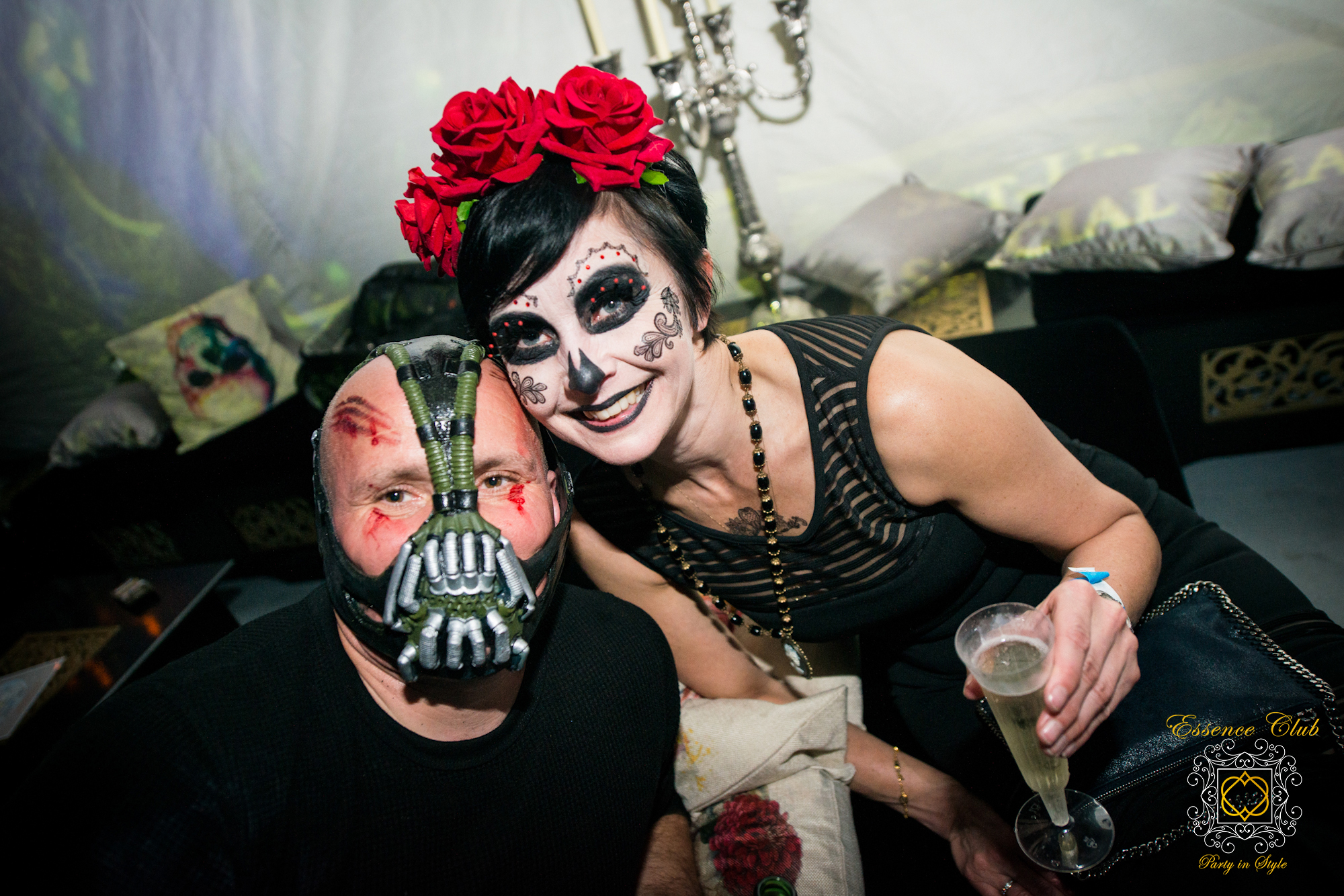 Halloween party lounge