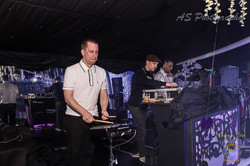 Essence club djs and percussion