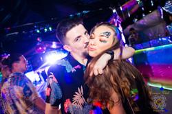 Glitter Heaven Party Couple