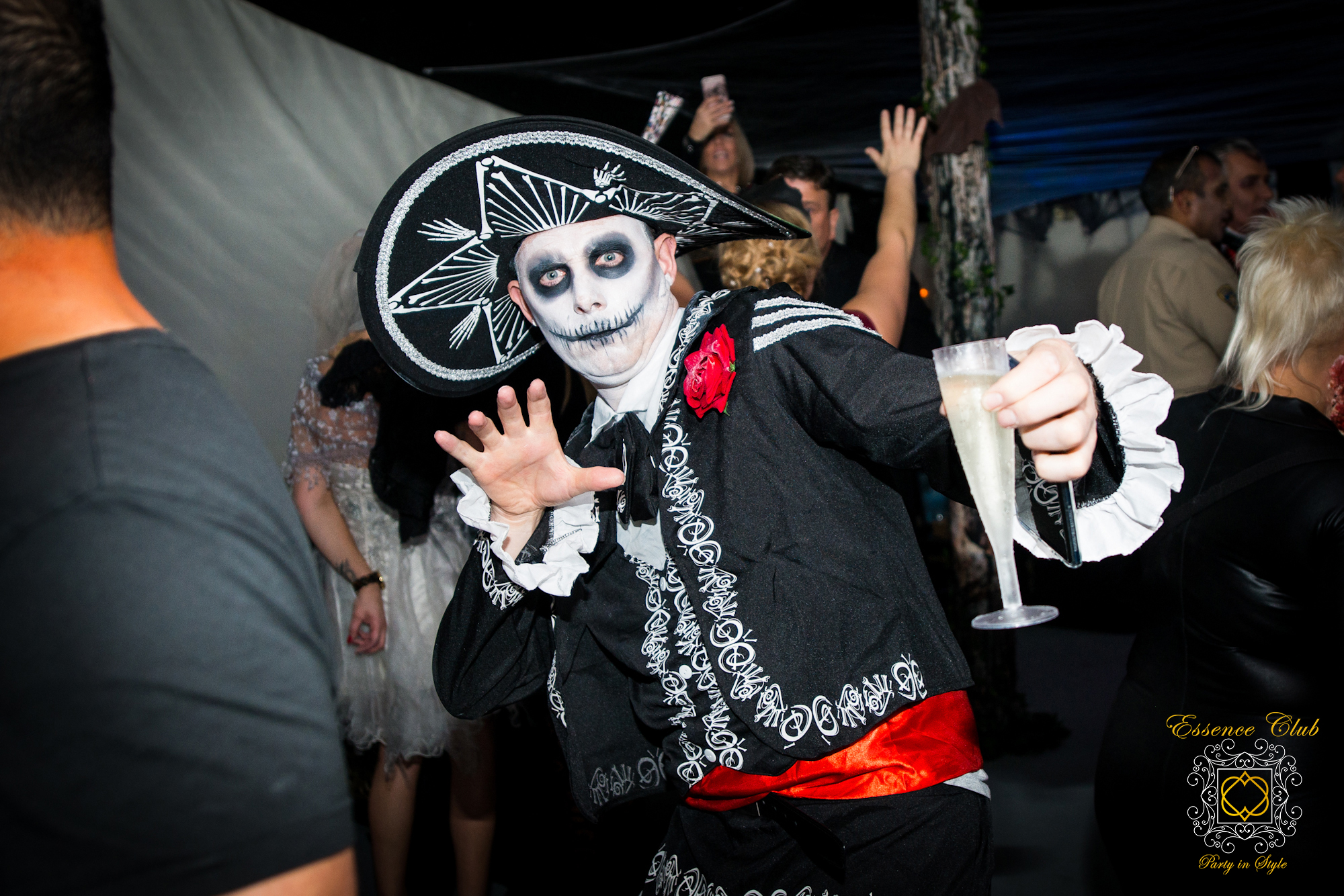 Halloween party fun and frolics