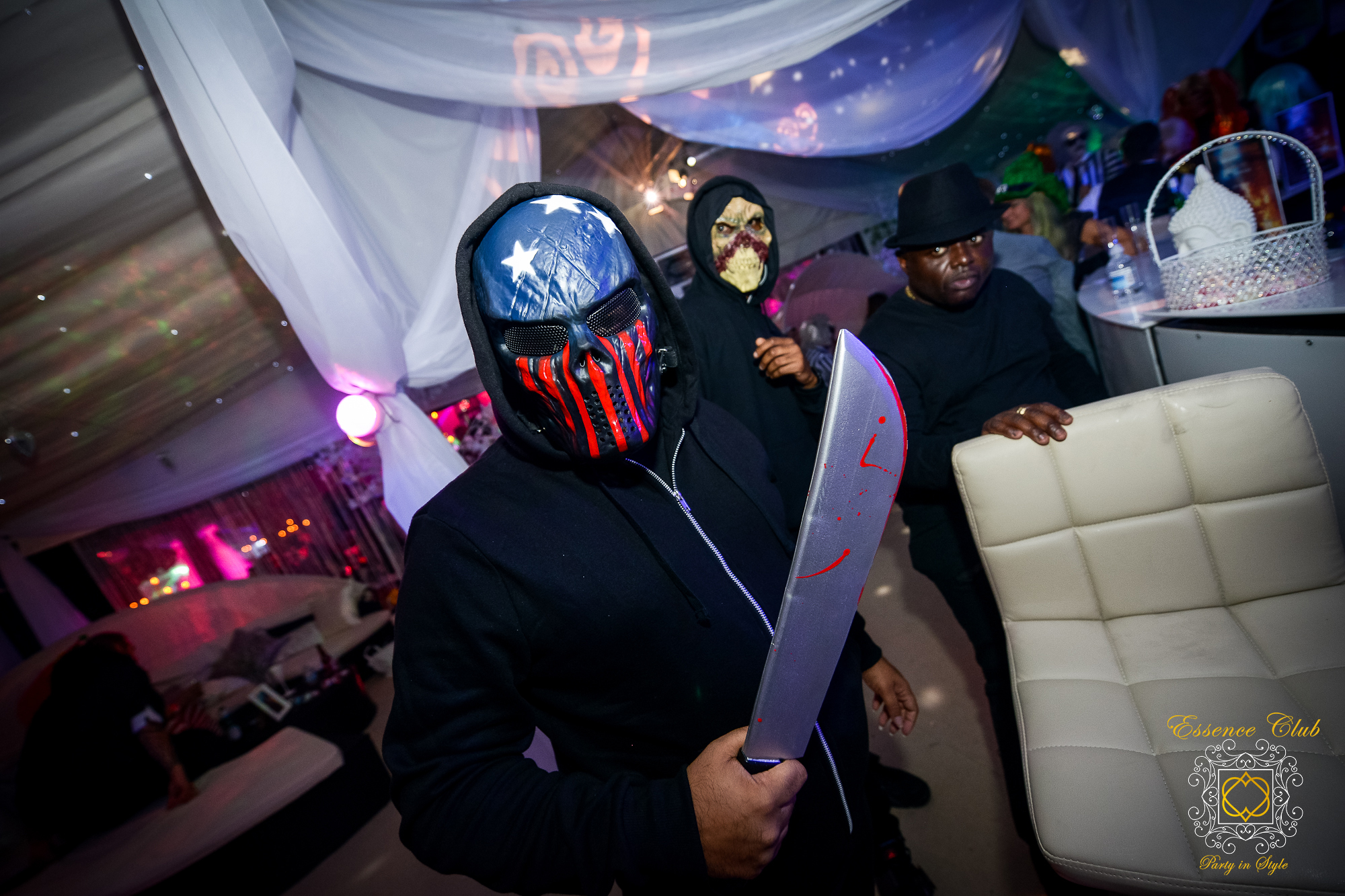 Essence club events heaven and hell