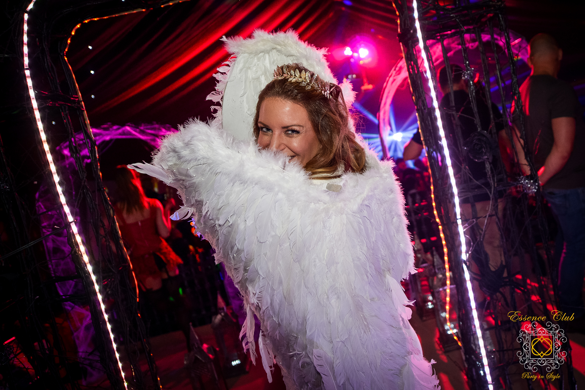 Angel theme party