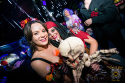 Essence club themed halloween party