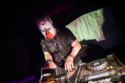 Dj Mark Doyle playing in hell