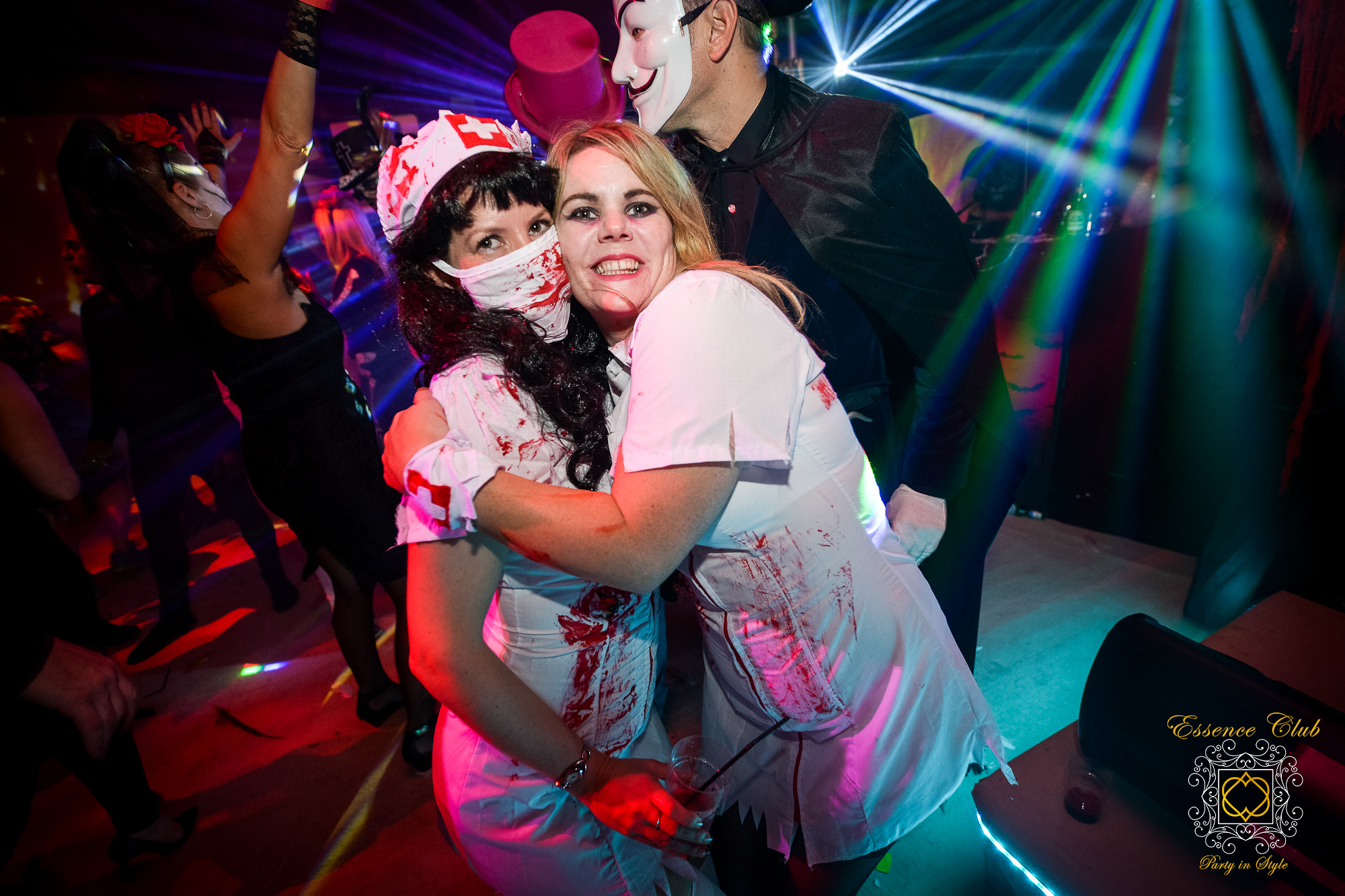 Halloween event at essence club