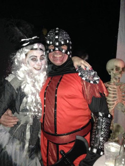 At Bewitching halloween event